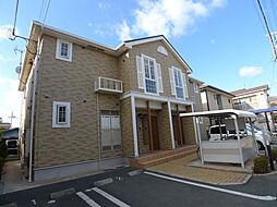 兵庫県加古川市別府町元町の賃貸アパートの外観
