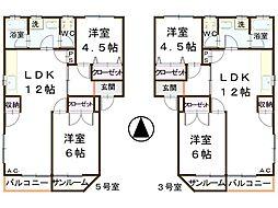 ピュアハイツ諸江[205号室号室]の間取り