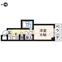 大藤マンション[2-A号室]の間取り