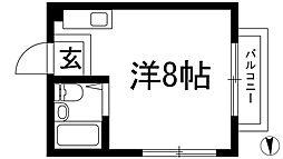 川西ハイツ[2階]の間取り