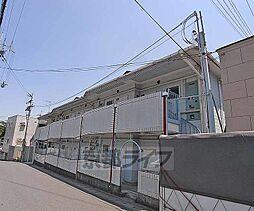 京都府京都市西京区御陵北山町の賃貸アパートの外観