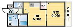 エムアールメゾン[2階]の間取り