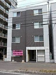 北海道札幌市中央区南三条西27丁目の賃貸マンションの外観