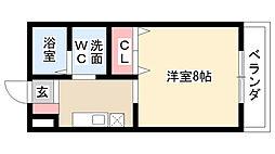 愛知県名古屋市南区大同町2丁目の賃貸マンションの間取り
