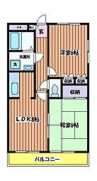 寺澤ビル[3階]の間取り