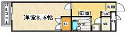 プレジール南大塚[102号室]の間取り