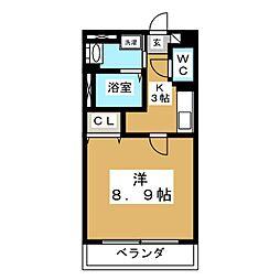 T's IZUMI[3階]の間取り