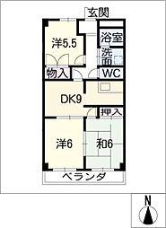 S.D.スクエア[2階]の間取り