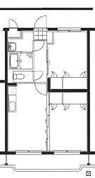 フェニックスマンションB[2階]の間取り