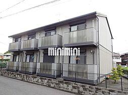 愛知県岡崎市中園町字宮西の賃貸アパートの外観