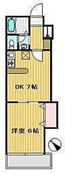 テール デ イフ2[1階]の間取り