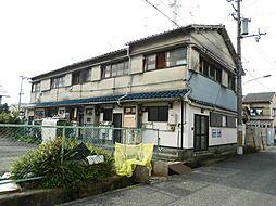 兵庫県尼崎市大庄川田町の賃貸アパートの外観