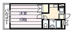 マービーハウス 2[1階]の間取り