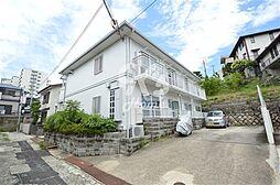 兵庫県神戸市垂水区仲田3丁目の賃貸アパートの外観
