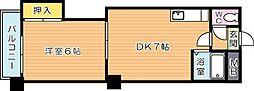 メゾンHI-CIMA(メゾンハイシーマ)[3階]の間取り