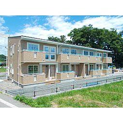 長野県東御市羽毛山の賃貸アパートの外観