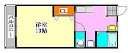 第7アトムステーションビル[205号室]の間取り