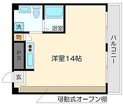 メゾンガロパンI[3階]の間取り