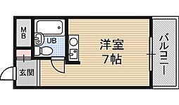 レバンガ新大阪イースト[8階]の間取り