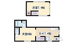 [一戸建] 愛知県名古屋市昭和区塩付通6丁目 の賃貸【/】の間取り