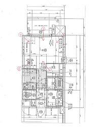 福岡市地下鉄箱崎線 呉服町駅 徒歩13分の賃貸マンション 11階1Kの間取り