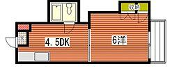 メゾン東雲I[3階]の間取り