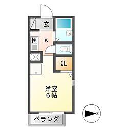 U・TOPIA 16[2階]の間取り