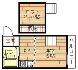 ロフティ野田[1階]の間取り