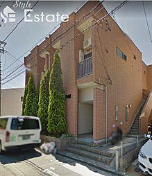 愛知県名古屋市守山区金屋2丁目の賃貸アパートの外観