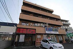 岡山県岡山市中区平井6丁目の賃貸マンションの外観
