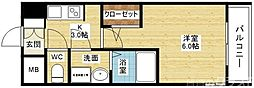 S-RESIDENCE新大阪Garden[11階]の間取り