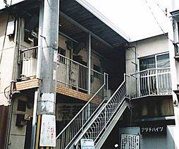 京都府京都市山科区東野狐藪町の賃貸アパートの外観