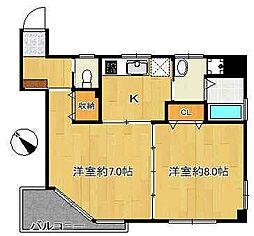 文京ツインタワー[9階]の間取り