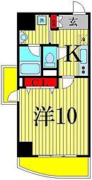 プライムアーバン千住[8階]の間取り