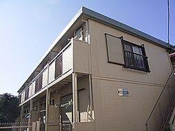 東京都中野区本町6丁目の賃貸アパートの外観