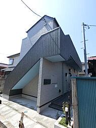 千葉県千葉市花見川区花園2の賃貸アパートの外観
