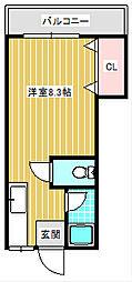 エステートSODA[108号室]の間取り