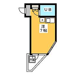 メゾン森島[3階]の間取り