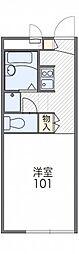 レオパレスエスポワール[2階]の間取り