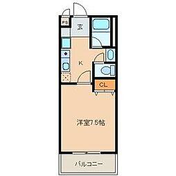 ドエルマルモ303[3F号室]の間取り