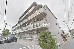 岡山県岡山市北区大和町1の賃貸マンションの外観