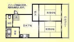 大野木ビル--[301号室]の間取り