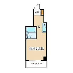 EPO塚本レジデンス[202号室]の間取り