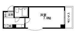 Rinon 脇浜[401号室]の間取り