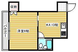 ZOO[3階]の間取り