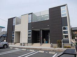 三重県津市高茶屋3丁目の賃貸アパートの外観