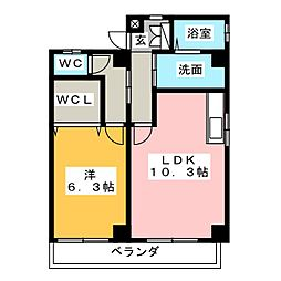 FELIZ GATO[2階]の間取り