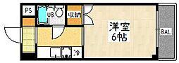 タチバナ[203号室]の間取り