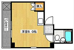 立川ビル[303号室]の間取り