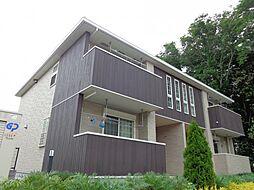 千葉県千葉市稲毛区長沼原町の賃貸アパートの外観